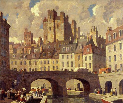 Art Prints of The Old City by Robert Spencer