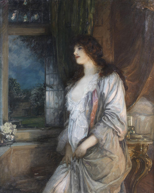 Art Prints of The Nightingale's Song by Robert Walker Macbeth