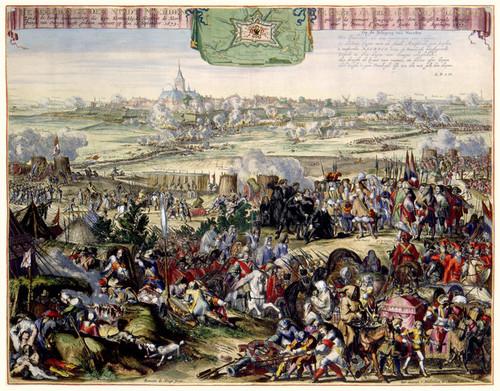 Art Prints of Siege and Capture of Naarden (346) by Romeyn Hooghe