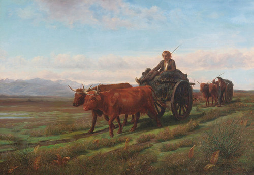 Art Prints of Going to Market by Rosa Bonheur