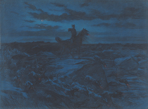 Art Prints of The Legend of the Wolves by Rosa Bonheur