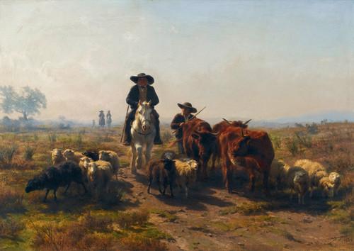 Art Prints of The Mule by Rosa Bonheur