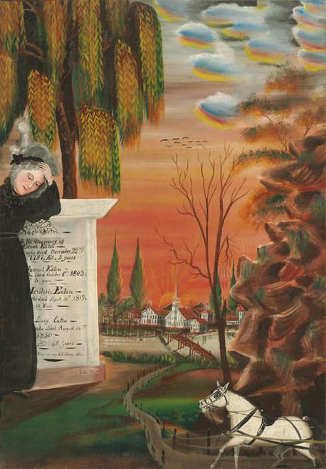 Art Prints of Eaton Family Memorial by Samuel Jordan