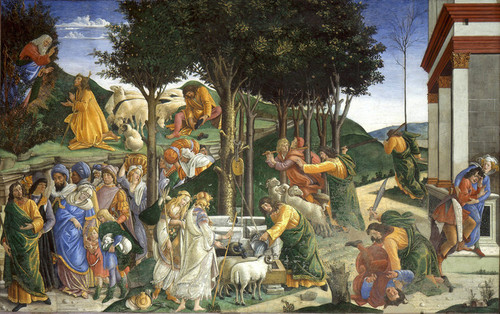 Art Prints of Events in the Life of Moses by Sandro Botticelli
