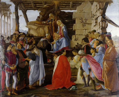 Art Prints of The Adoration of the Magi by Sandro Botticelli