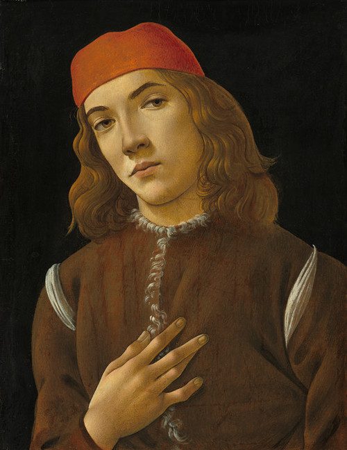 Art Prints of Portrait of a Youth by Sandro Botticelli