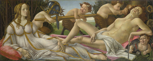 Art Prints of Venus and Mars by Sandro Botticelli