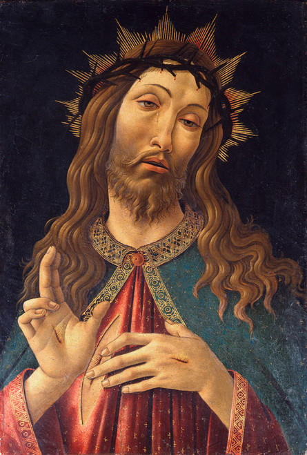 Art Prints of Christ Crowned with Thorns by Sandro Botticelli