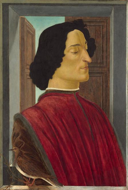 Art Prints of Portrait of Giuliano de Medici by Sandro Botticelli