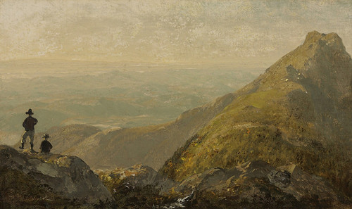 Art Prints of A Sketch of Mansfield Mountain by Sanford Robinson Gifford