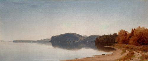 Art Prints of Hook Mountain by Sanford Robinson Gifford