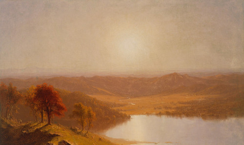 Art Prints of View from the Berkshire Hills by Sanford Robinson Gifford