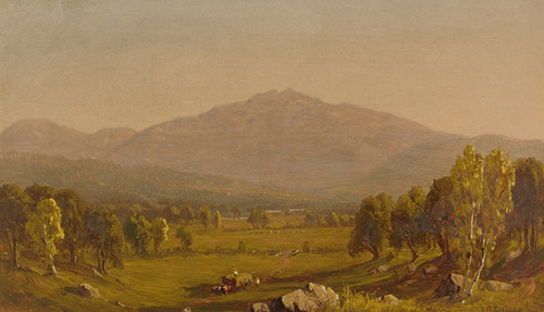 Art Prints of White Mountains, New Hampshire by Sanford Robinson Gifford