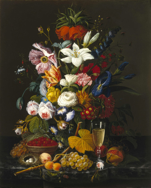Art Prints of Victorian Bouquet by Severin Roesen