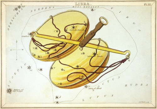 Art Prints of Libra, Plate 22, View of the Heavens by Sidney Hall