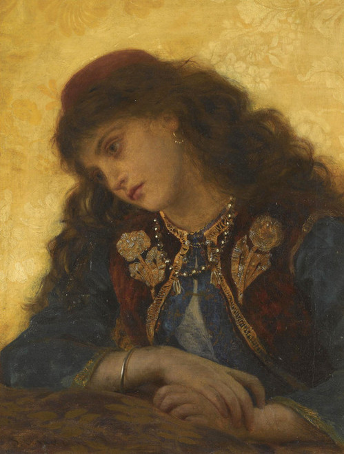 Art Prints of A Greek Girl by Sophie Anderson