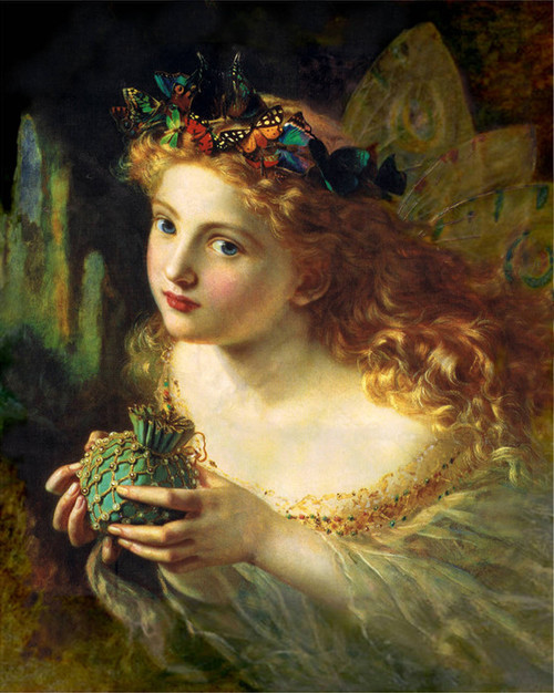 Art Prints of Take the Fair Face of Woman by Sophie Anderson