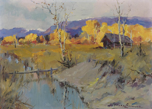 Art Prints of Autumn Morning by Sydney Laurence