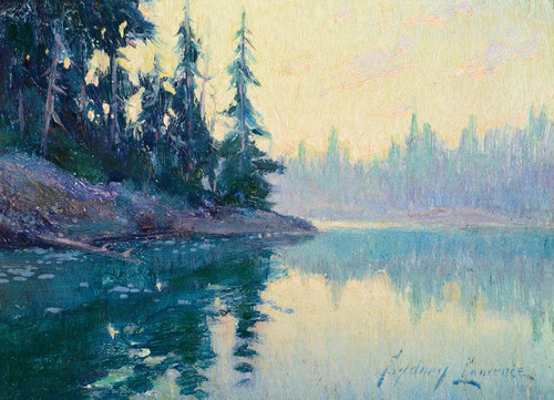 Art Prints of Alaskan Lake by Sydney Laurence