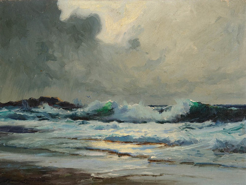 Art Prints of Breakers, 1930 by Sydney Laurence