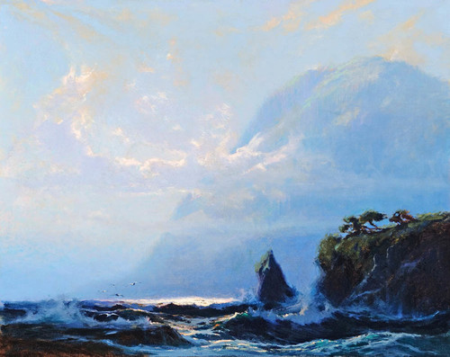Art Prints of Knowles Head Prince William Sound by Sydney Laurence