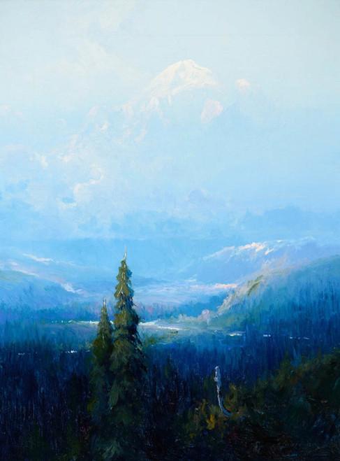 Art Prints of Mount McKinley, Alaska, 1922 by Sydney Laurence