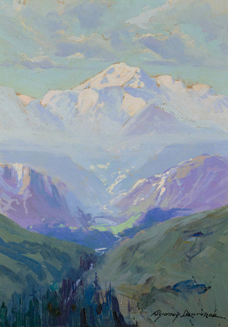 Art Prints of Mt. McKinley, Alaska, 1935 by Sydney Laurence