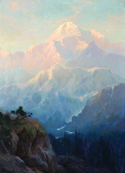 Art Prints of Mt. McKinley IV by Sydney Laurence