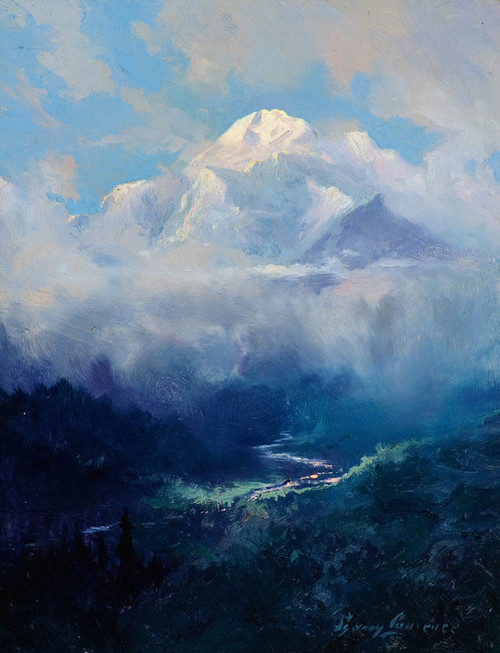 Art Prints of Mt. McKinley III by Sydney Laurence