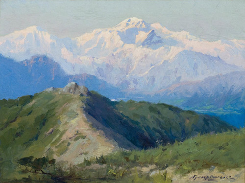 Art Prints of Mt. McKinley from Bird Creek by Sydney Laurence
