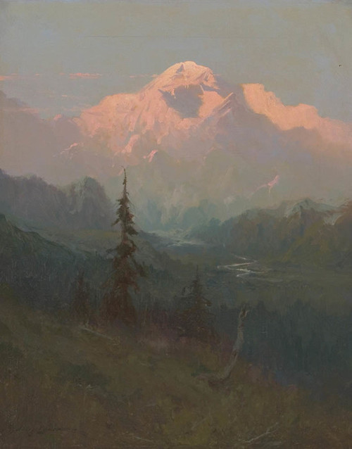 Art Prints of Mt. McKinley VII by Sydney Laurence