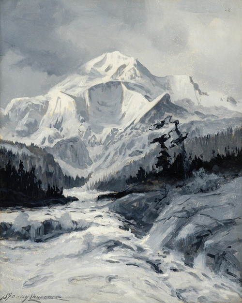Art Prints of Mt. McKinley VI by Sydney Laurence