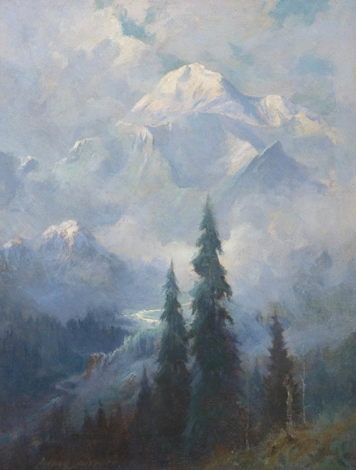 Art Prints of Mt. McKinley VIII by Sydney Laurence