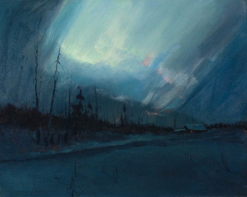 Art Prints of Northern Lights II by Sydney Laurence