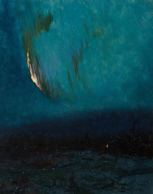 Art Prints of Northern Lights I by Sydney Laurence