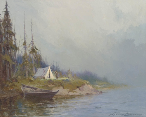 Art Prints of Riverside Camp by Sydney Laurence