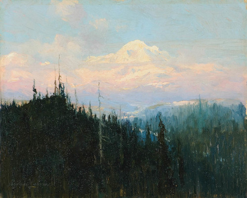 Art Prints of Mt. McKinley Sunrise by Sydney Laurence