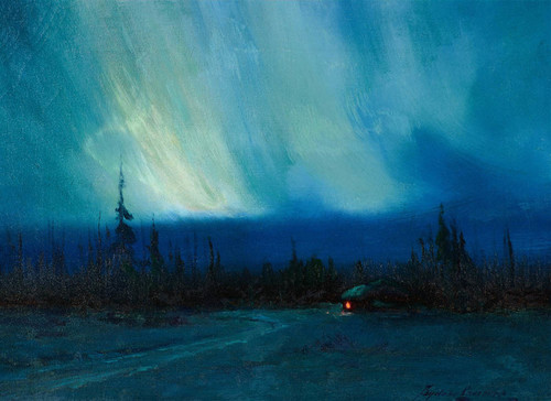Art Prints of The Northern Lights by Sydney Laurence