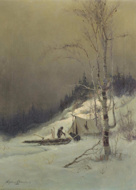 Art Prints of Returning to Camp by Sydney Laurence
