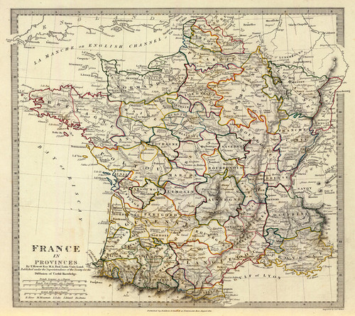 Art Prints of France in Provinces, 1831 by T. Hewitt Key