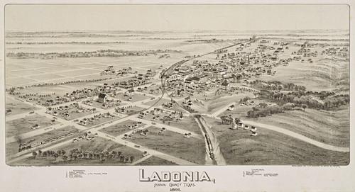 Art Prints of Ladonia, Texas, 1891 by Thaddeus Mortimer Fowler