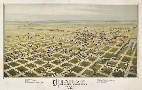Art Prints of Quanah, Texas, 1890 by Thaddeus Mortimer Fowler