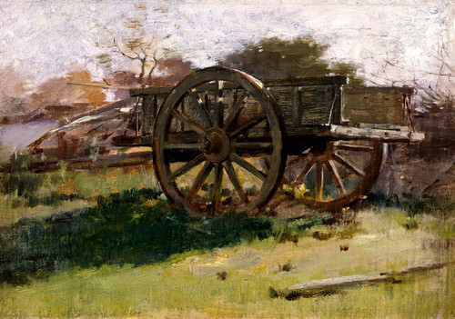 Art Prints of Cart, Nantucket by Theodore Robinson