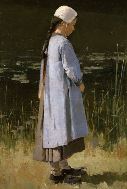 Art Prints of Angelus by Theodore Robinson