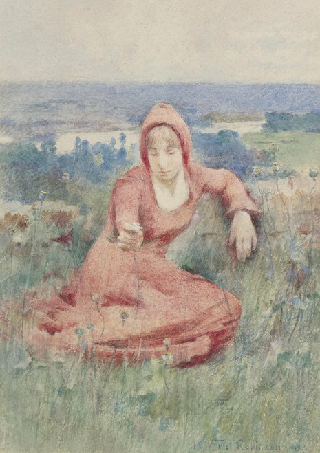 Art Prints of Moyen Age by Theodore Robinson