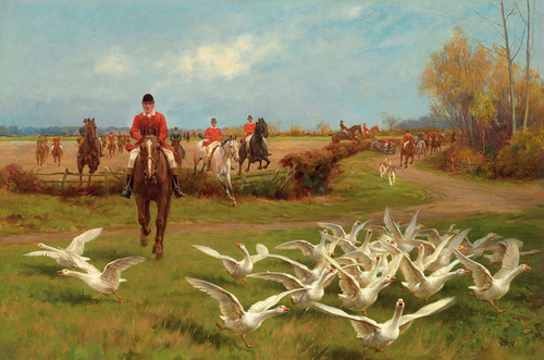 Art Prints of Away! Away! by Thomas Blinks