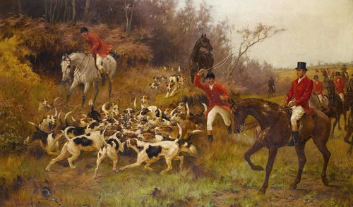 Art Prints of The End of the Hunt by Thomas Blinks