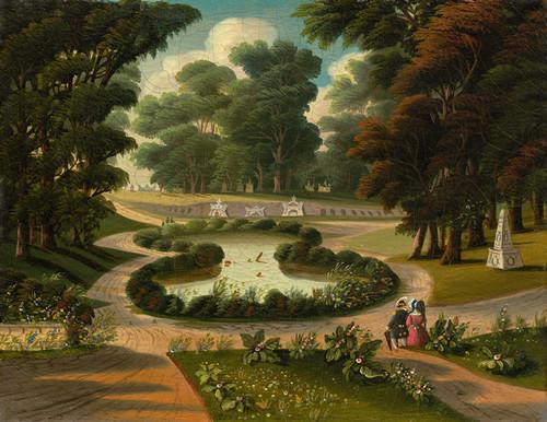 Art Prints of Mount Auburn Cemetery by Thomas Chambers