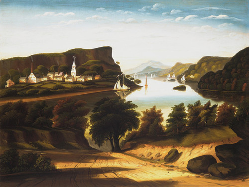 Art Prints of Lake George and the Village of Caldwell by Thomas Chambers