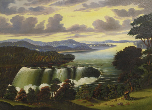 Art Prints of Niagara Falls Viewed from Goat Island by Thomas Chambers